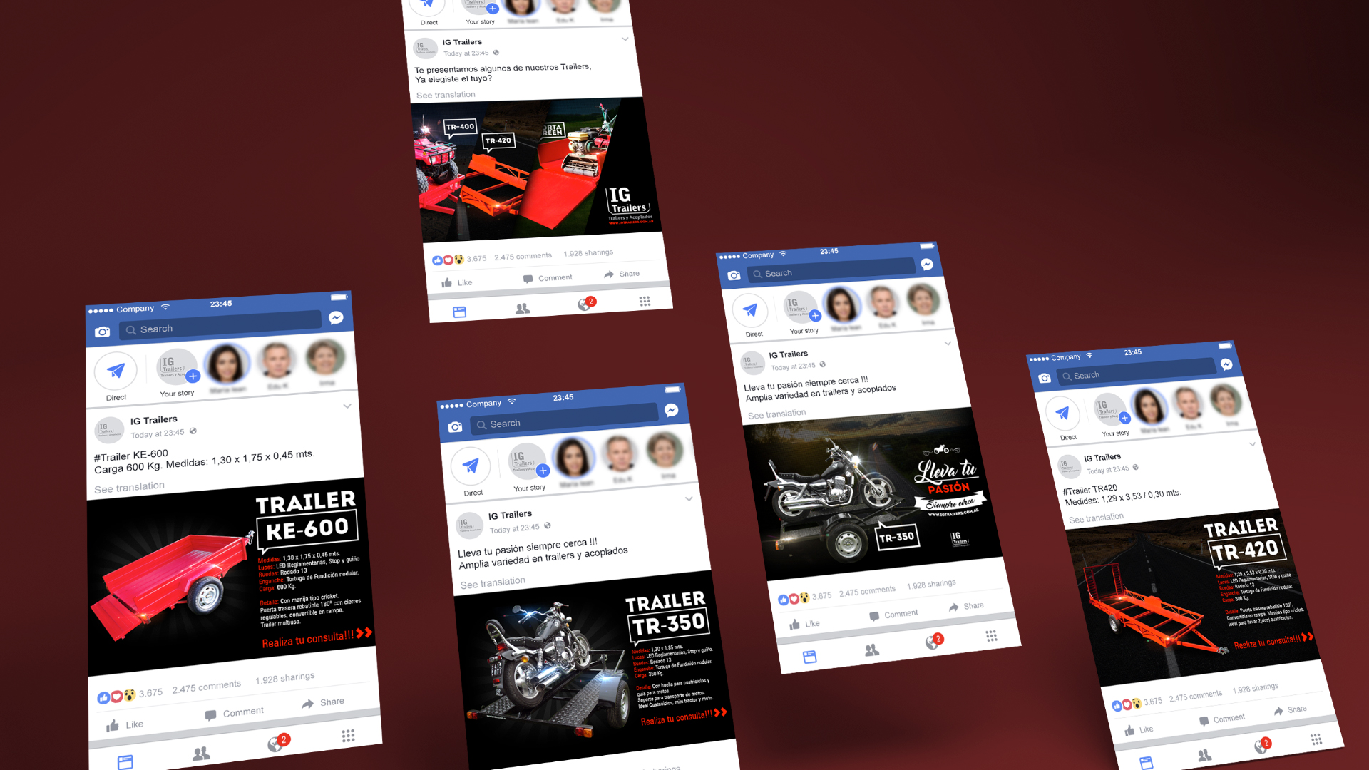 facebook ads IGTrailers