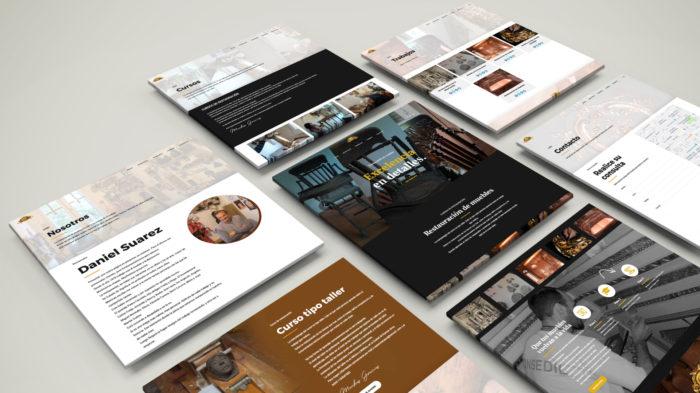 Website Daniel Suarez Restauracion