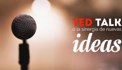 TED Talk o la sinergia de nuevas ideas.