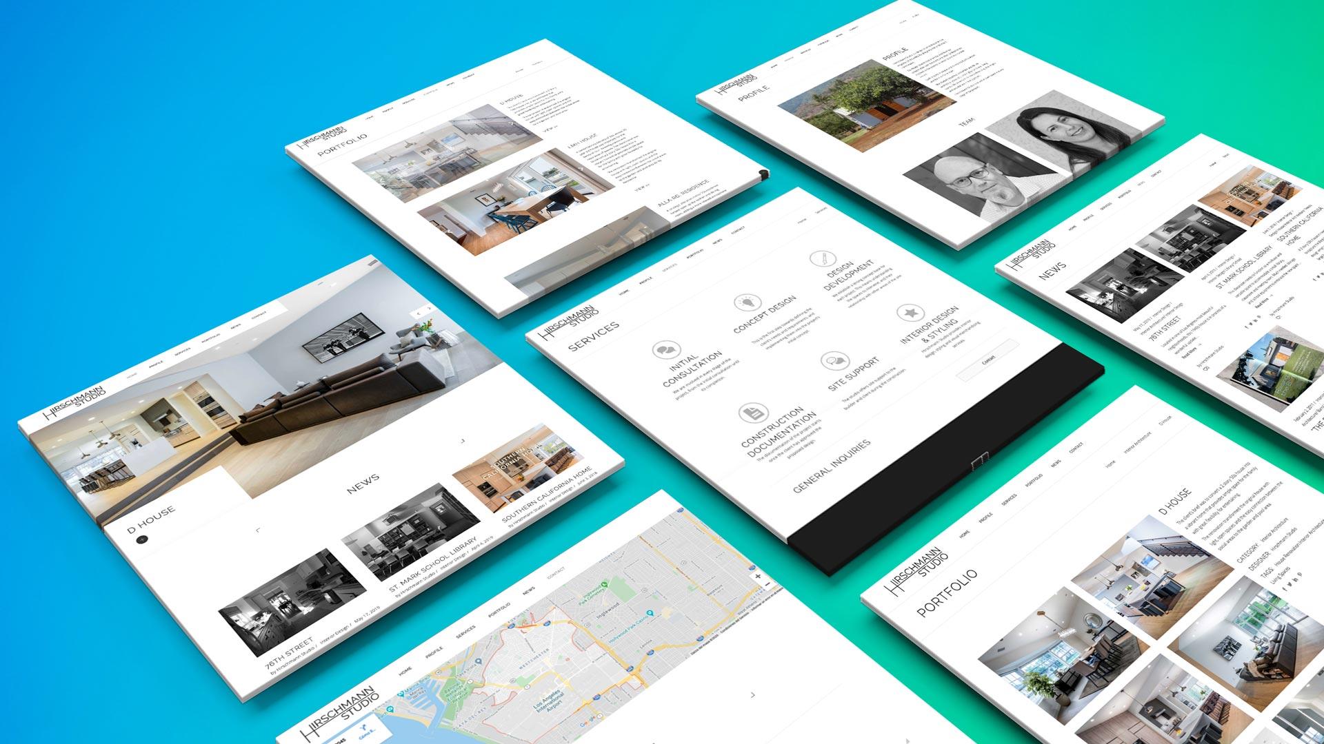 Hirschmann Studio Diseño Web