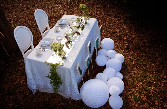 Fotografía decoración de mesa