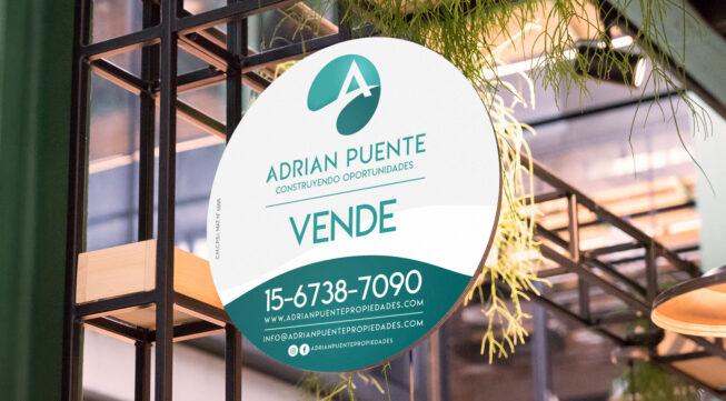 Cartelería Adrian Puente