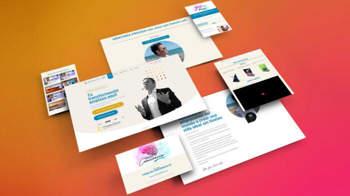 Desarrollo de Sitio web Sistema Cancio LaO España